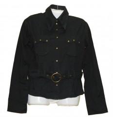 Легкая курточка-рубашка с красивыми рукавами р.48