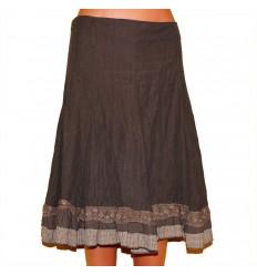 Легкая дизайнерская юбка р.48