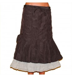 Кокетливая легкая юбка р.48