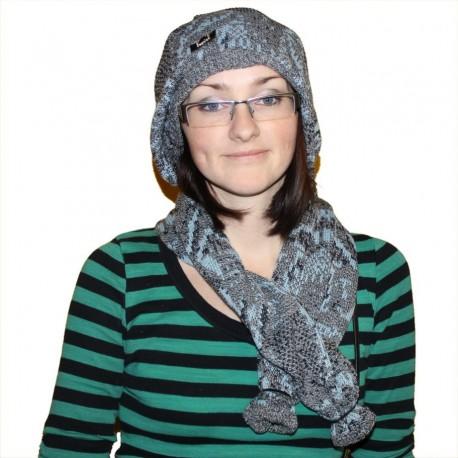 Берет-шарф и сумка - Оригинальный дизайнерский комплект