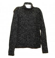 Толстый свитер ручной вязки р.64-66