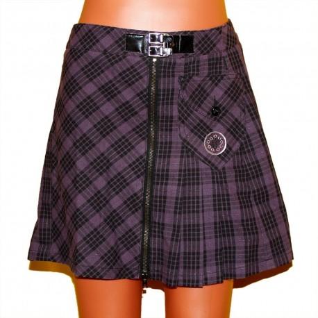 Очень модная хлопковая юбка с блеском р.40-42