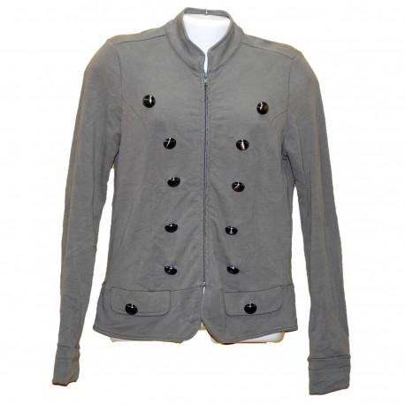 Стильный светлоболотный пиджак р.44-46
