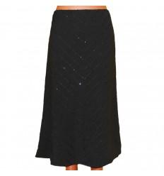 Дизайнерская юбка с пайетками