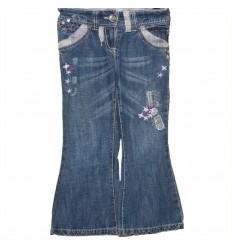 Дизайнерские детские джинсы с оригинальной отделкой