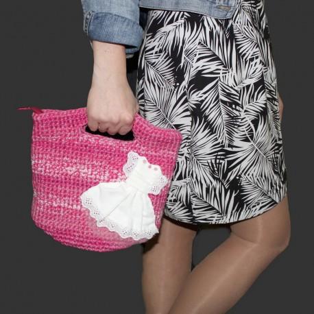 Дизайнерская джинсовая сумочка -Твой след