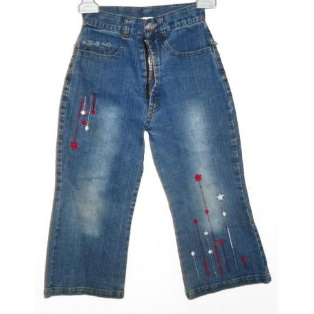Дизайнерские детские джинсы с вышивкой