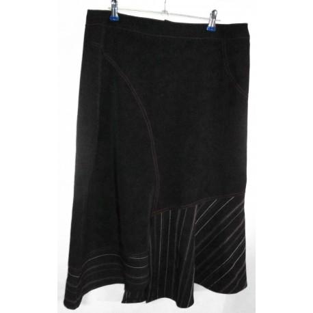 Дизайнерская оригинальная юбка с отделкой