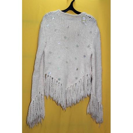 Оригинальный свитер с пайетками