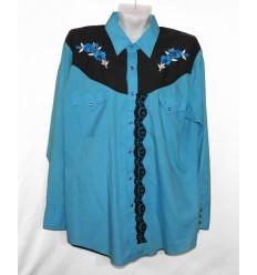 Оригинальная рубашка с вышивкой