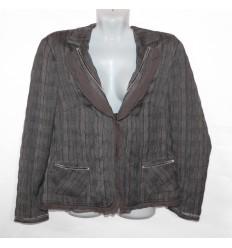 Дизайнерский оригинальный пиджак-куртка
