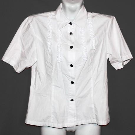 Блузка с рюшечками