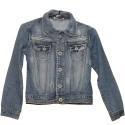 Красивая джинсовая детская курточка